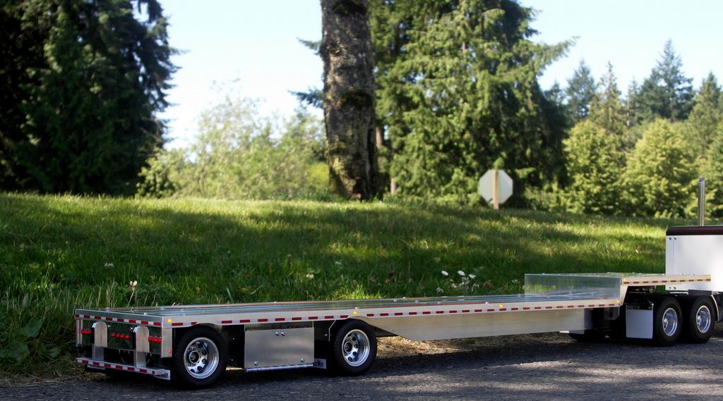 14 scale remote control semi truck tractor trailer viral autos
