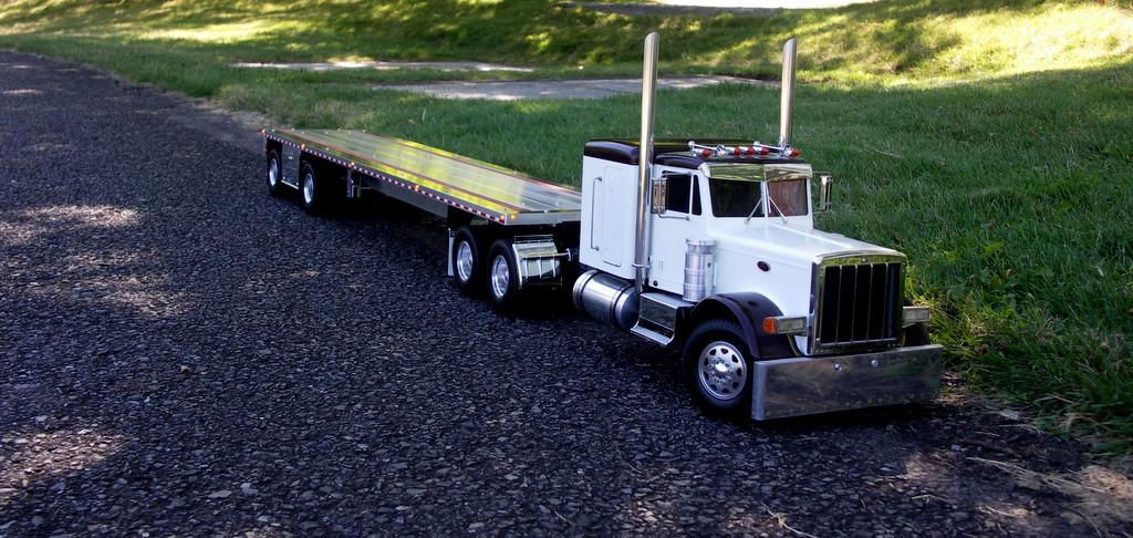 Custom Aluminum Flatbed Trailers For Tamiya Trucks Realistic