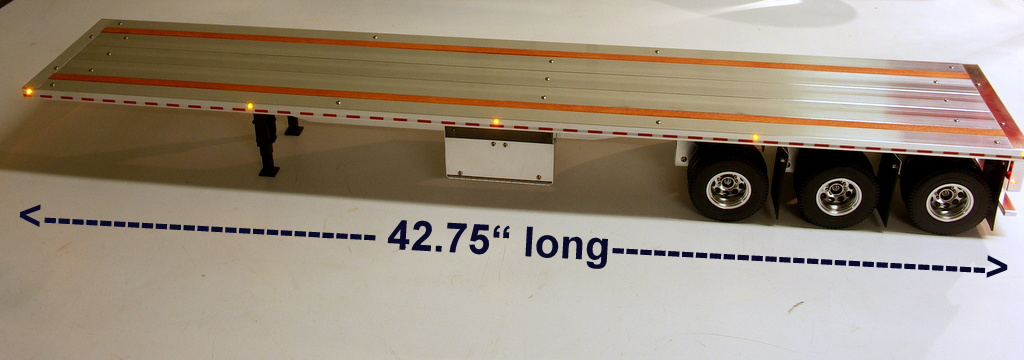 Digital camera custom aluminum flatbed trailers for tamiya trucks