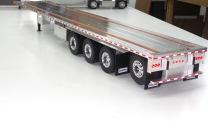 53' Quad lift Axle