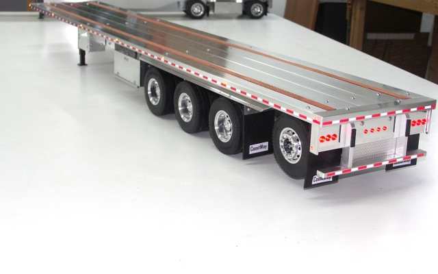 Custom Aluminum Flatbed Trailers for Tamiya Trucks | Realistic ...